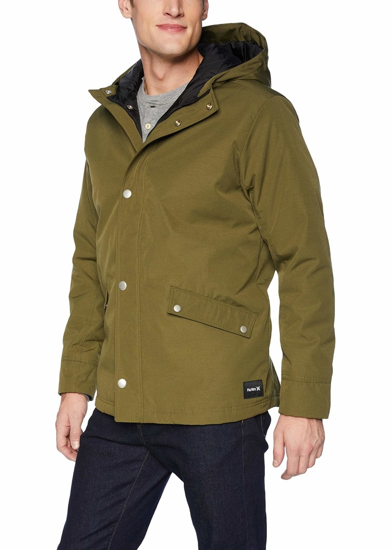 Hurley Men's Timber Sherpa Lined Jacket  M
