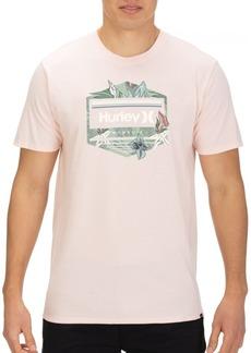 Hurley Men's Tropics Logo T-shirt
