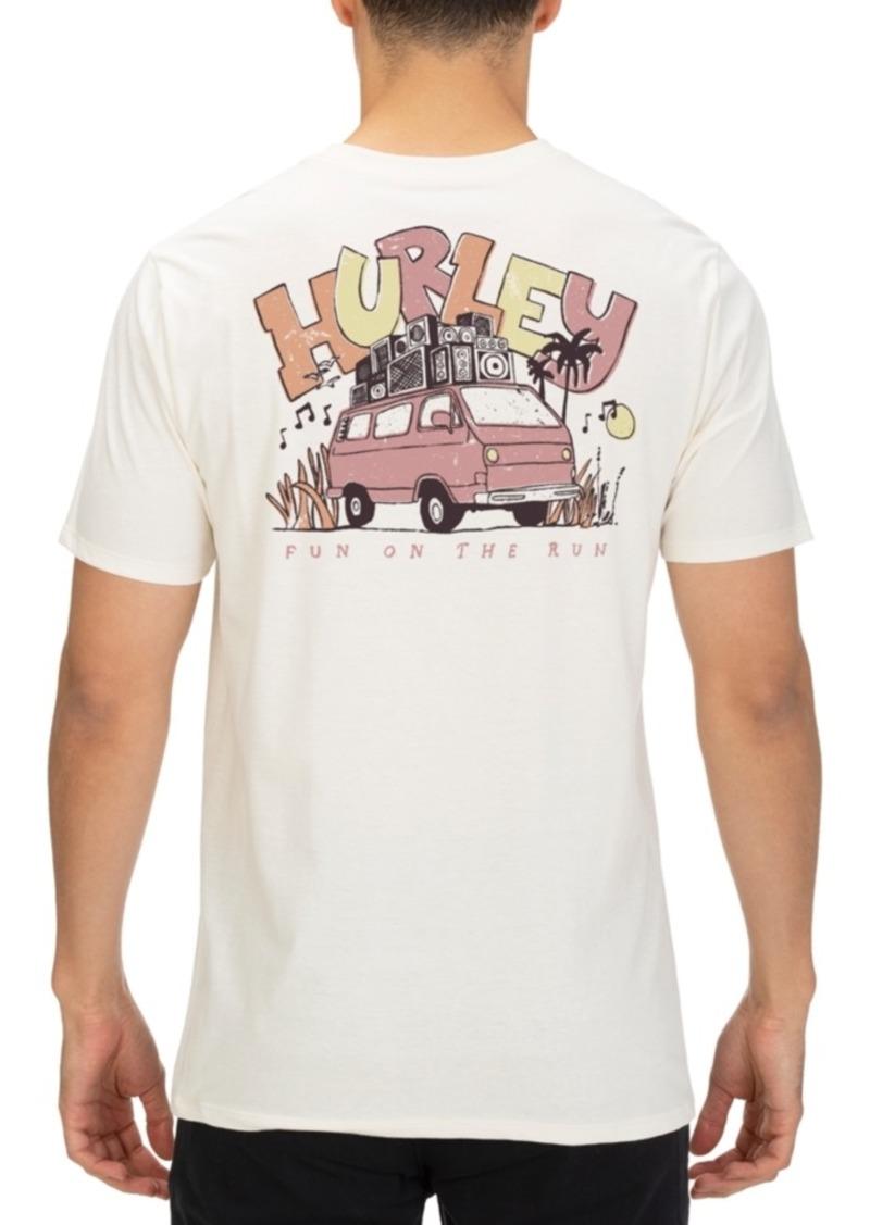 Hurley Men's Van Jam Graphic T-Shirt