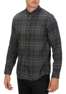 Hurley Men's Vedder Washed Plaid Shirt