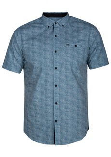 Hurley Men's Visionary Printed Pocket Shirt