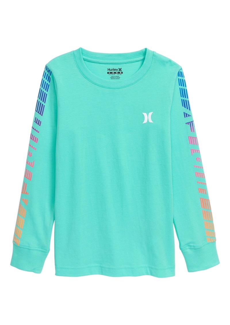 Hurley Moto II Long Sleeve T-Shirt (Toddler Boys & Little Boys)