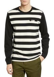 Hurley Moto Striped Long Sleeve T-Shirt