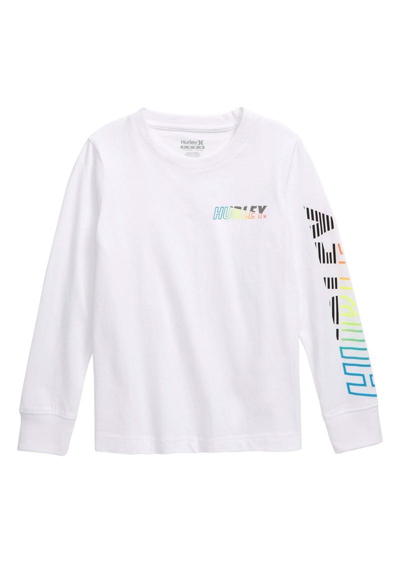 Hurley Onshore Long Sleeve T-Shirt (Big Boys)
