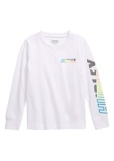 Hurley Onshore Long Sleeve T-Shirt (Toddler Boys & Little Boys)