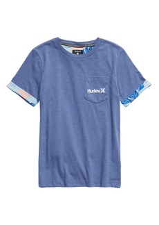 Hurley Paradise Cuff Pocket T-Shirt (Big Boys)