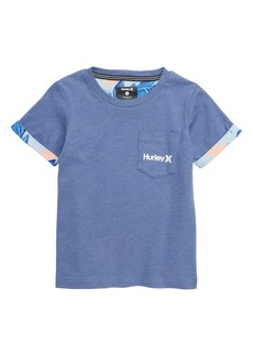 Hurley Paradise Roll Cuff T-Shirt (Little Boys)