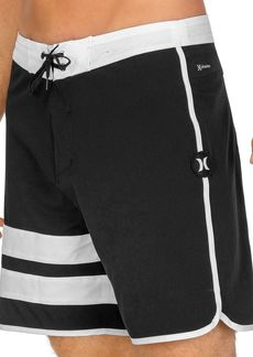 "Hurley Phantom Double Stripe 18"" Board Shorts"