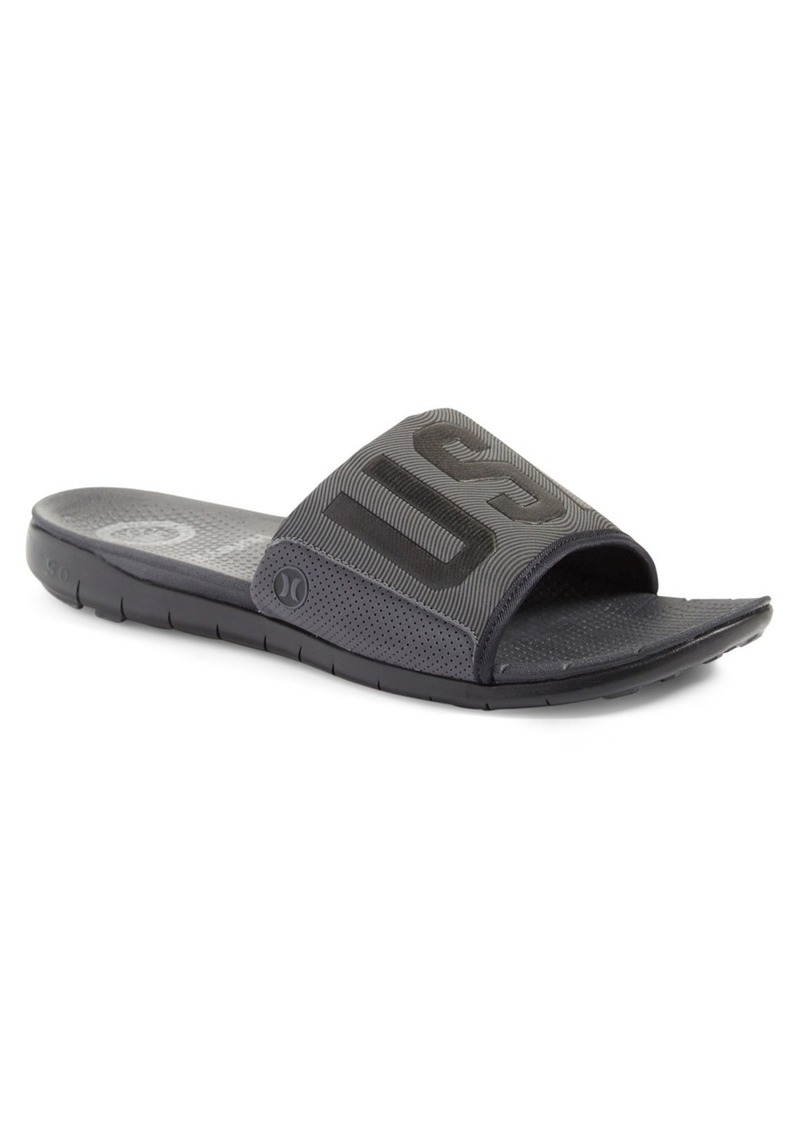 Hurley 'Phantom Free USA' Slide Sandal (Men)