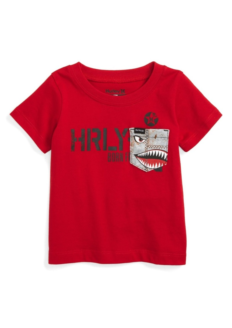 Hurley Pocket Play Graphic T-Shirt (Baby Boys)