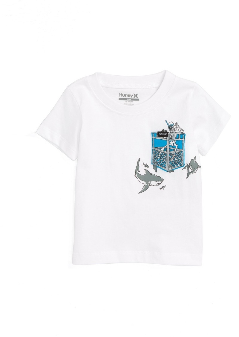 Hurley Pocket Play Graphic T-Shirt (Baby Boys)