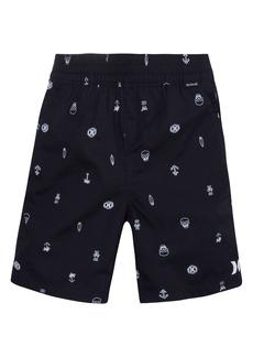 Hurley Poplin Pull-On Shorts (Toddler Boys & Little Boys)