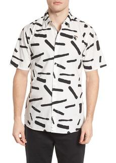 Hurley Print Short Sleeve Shirt