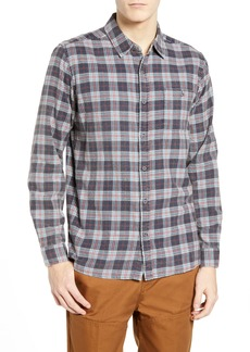 Hurley Ranger Plaid Cotton Flannel Sport Shirt