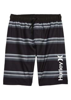 Hurley Serape Stripe Swim Trunks (Big Boys)