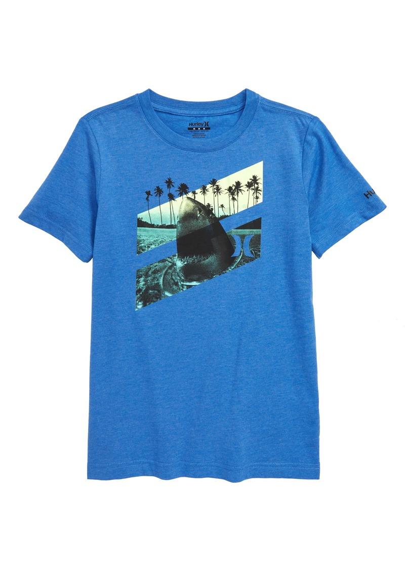 Hurley Sharkface Slash Graphic Tee (Big Boys)