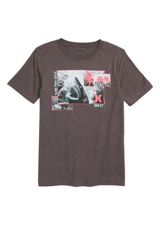 Hurley Sketchy Shark Graphic T-Shirt (Big Boys)