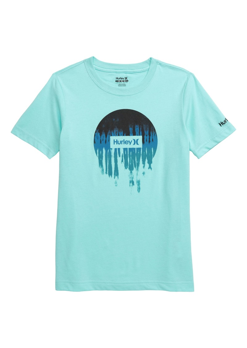 Hurley Smeared Out Graphic T-Shirt (Big Boys)