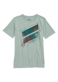 Hurley Spray Slash Logo T-Shirt (Big Boys)