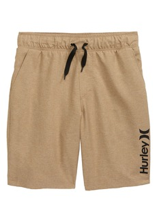 Hurley Stretch Hybrid Shorts (Toddler & Little Boy)