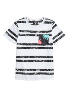 Hurley Stripe T-Shirt (Big Boy)