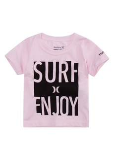 Hurley Surf & Enjoy Graphic T-Shirt (Big Boys)