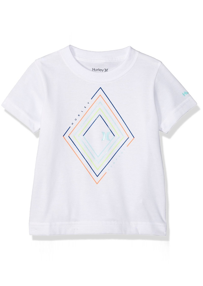 Hurley Toddler Boys' Geo Graphic T-Shirt