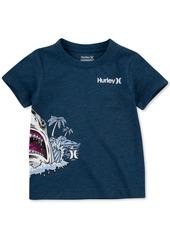 Hurley Toddler Boys Shark World Cotton T-Shirt