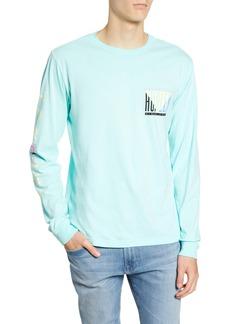Hurley Tri Gron Color Change Premium Long Sleeve T-Shirt