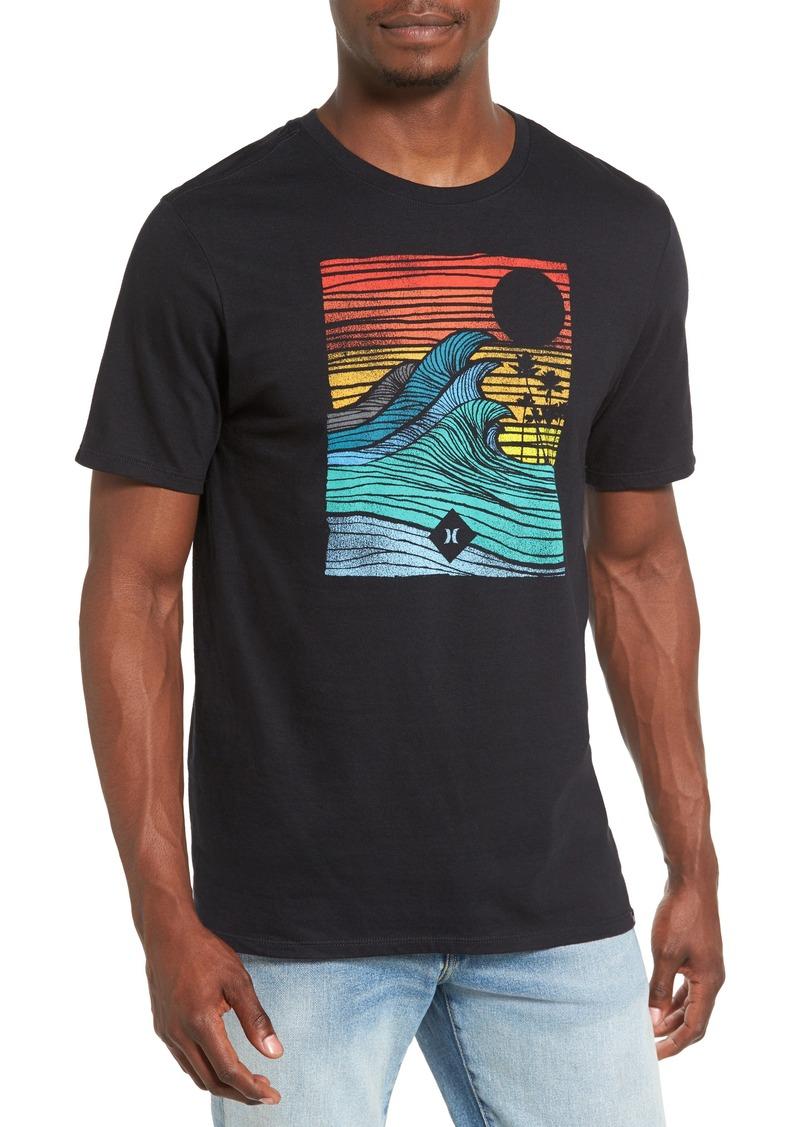 Black t shirt target - Hurley Tropic Target Graphic T Shirt