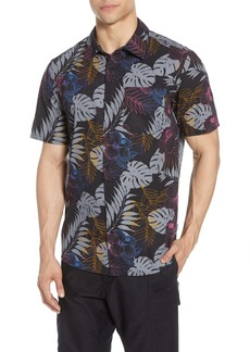 Hurley Tropicalia Floral Short Sleeve Button-Up Shirt