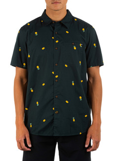 Hurley Windansea Short Sleeve Button-Up Shirt