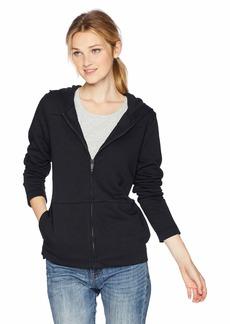 Hurley Women's Apparel Junior's Icon Fleece Full Zip Hoodie Sweatshirt  S