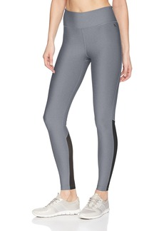 Hurley Women's Apparel Junior's Quick Dry Compression Mesh Legging  M