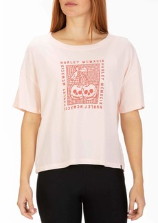 Hurley Women's Apparel Women's Cherry Bomb Flouncy Tshirt  L
