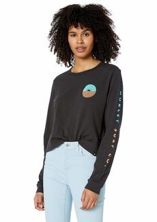 Hurley Women's Apparel Women's Horizon Perfect Long-Sleeve  S