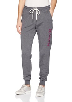 Hurley Women's Apparel Women's Lightweight Soft Fleece Track Pant