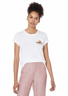 Hurley Women's Apparel Women's Mochis Crew Short-Sleeve Tee  XL