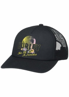 Hurley Women's Apparel Women's Mochis Trucker Hat   Fits All