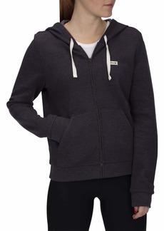 Hurley Women's Apparel Women's One & Only Box Perfect Full-Zip Fleece Hoodie  XS