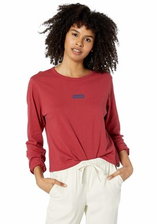 Hurley Women's Apparel Women's One & Only Box Perfect Long-Sleeve  XL