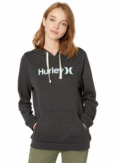 Hurley Women's Apparel Women's One & Only Fleece Hoodie Pullover Sweatshirt  XS