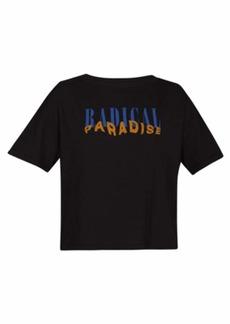 Hurley Women's Apparel Women's Radical Paradise Flouncy Tshirt  M