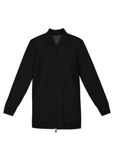 Hurley Women's Apparel Women's Reversible Bomber Tunic Jacket  M