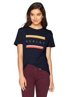 Hurley Women's Apparel Women's Tom Boy T-Shirt  S