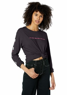 Hurley Women's Apparel Women's Vallarta Tee Long-Sleeve  S