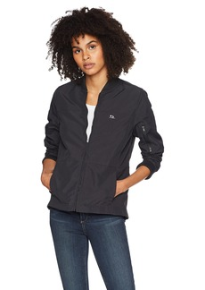 Hurley Women's Apparel Women's Water Repellent Surf Bomber Jacket  XL