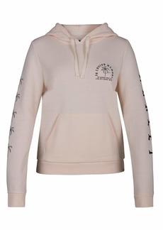 Hurley Women's Combo Swells Fleece Pullover Hoodie  XS
