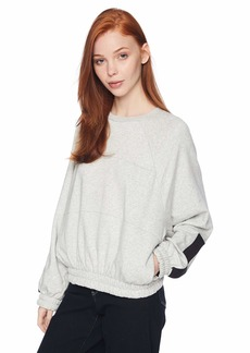 Hurley Women's Dolman Fleece Long Sleeve Crew Neck Sweatshirt  XS
