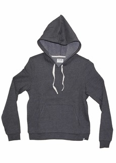 Hurley Women's Perfect Solid Pullover Hoodie Oil Grey HTHR M